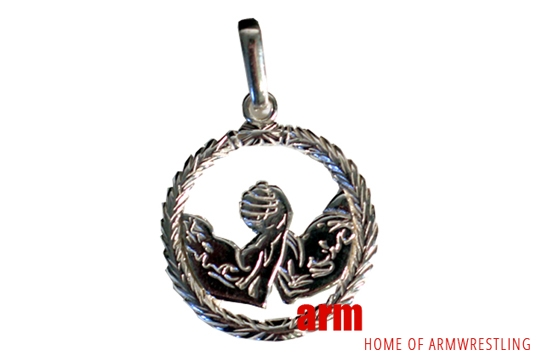 Silver HANDS pendant – large