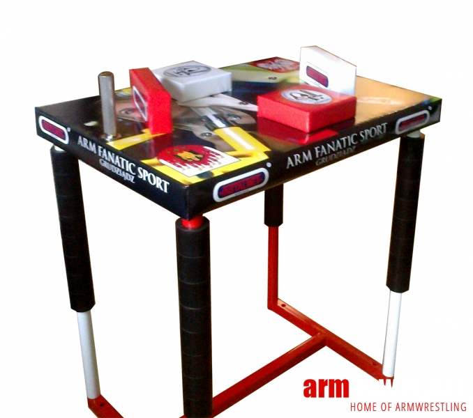 Armwrestling table – own design