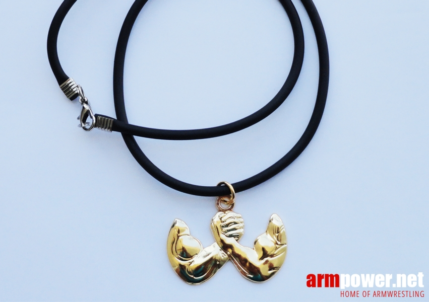 Gold Arms Pendant