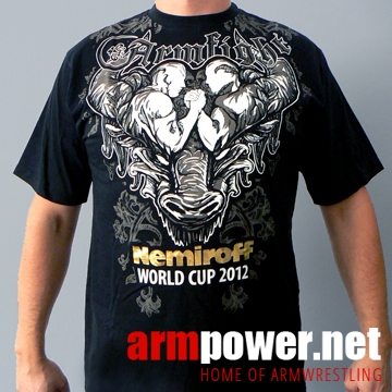 NEMIROFF 2012 T-SHIRT by ARMFIGHT BRAND – BLACK