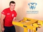 Train with  Mazurenko equipment!