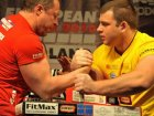 Vyacheslav Sharagovich. I don't see any idols in armwrestling