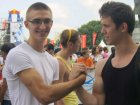 VIDEO Armwrestling Tournament in Moscow