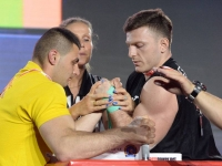 "Zurab Tavberidze: ""Old injuries bothered me"" # Armwrestling # Armpower.net"