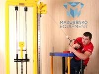 Trenuj na maszynach Mazurenko: wyciąg regulowany