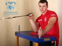 Exercises with a half-table Mazurenko Equipment