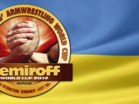 ARMWRESTLERS FROM UKRAINE ON NEMIROFF WORLD CUP 2012