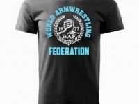 Koszulka WAF wieniec unisex czarna