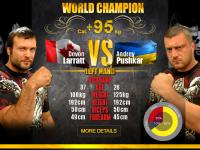 Tsyplenkov's and Larrat's fights