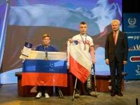 Dawid Łapa po I MŚ dla niepełnosprawnych - Puck 2014