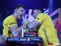 The improvement of Ermes Gasparini # Armwrestling # Armpower.net