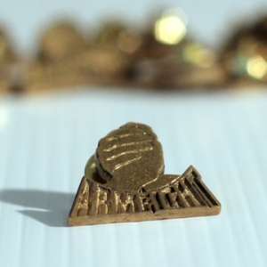 ARMFIGHT lapel pin