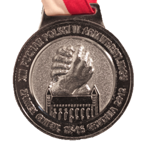 MEDAL – XIII Armwrestling Polish Cup 2012
