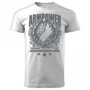 Unisex ARMPOWER T-shirt - white