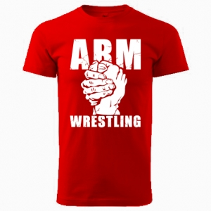 Unisex ARMWRESTLING  T-shirt - red