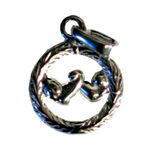 Silver HANDS pendant – small