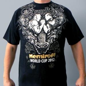 NEMIROFF 2012 T-SHIRT by ARMFIGHT BRAND – BLACK
