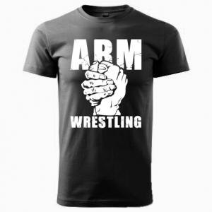 Unisex ARMWRESTLING  T-shirt - black