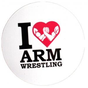 Magnet - I love Armwrestling