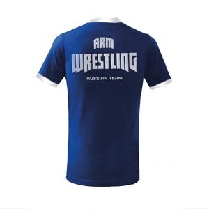 ARMWRESTLING RUSSIAN TEAM unisex T-shirt – blue