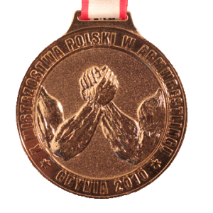 MEDAL – X Polish Armwrestling Championships 2010