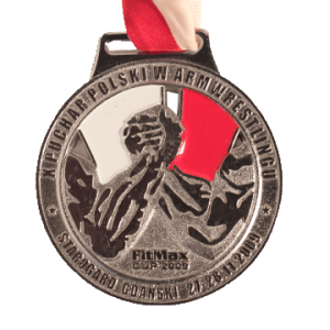 MEDAL – X Polish Armwrestling Cup 2009
