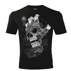SKULL HAND ARMFIGHT T-Shirt (unisex) - black