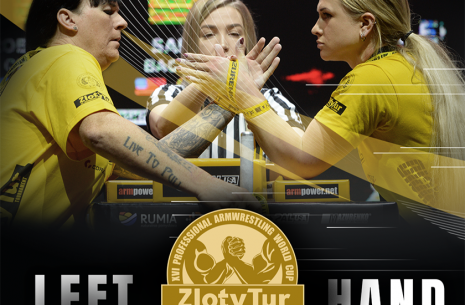 Zloty Tur 2019. Left hand results # Armwrestling # Armpower.net