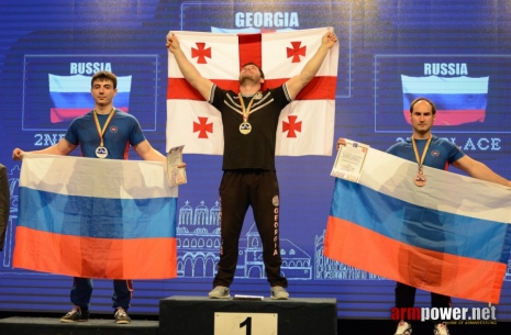 Irakli Gamtenadze: results of the year # Armwrestling # Armpower.net
