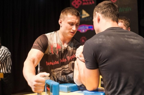 Oleg Petrenko: My goal is to win the Top 8! # Armwrestling # Armpower.net