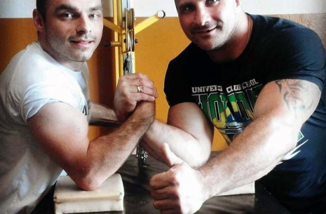 "Patryk Weterle: ""I would like to train with Rustam!"" # Armwrestling # Armpower.net"