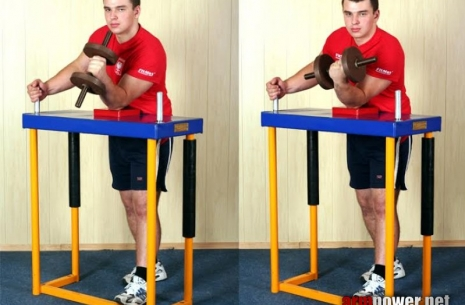 Train with Mazurenko equipment - Table Half # Armwrestling # Armpower.net