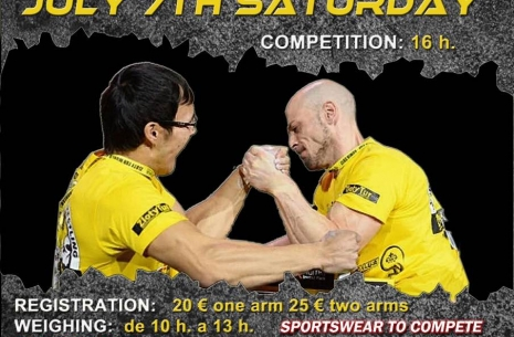 IV Armwrestling Open Francisco Jove Feliu # Armwrestling # Armpower.net