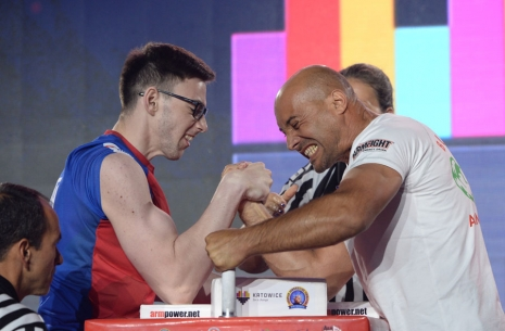 "Georgii Tautiev: ""My victory was unpredictable for me"" # Armwrestling # Armpower.net"