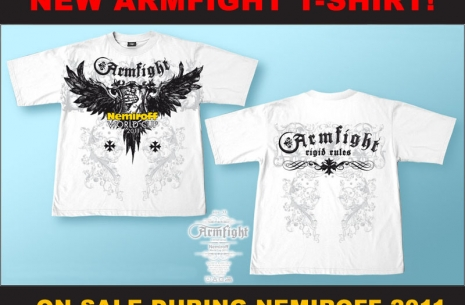 New ARMFIGHT T-shirts  # Armwrestling # Armpower.net