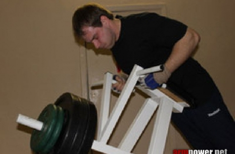 We are building a base in Armwrestling - Ivan Matyushenko's Training # Armwrestling # Armpower.net