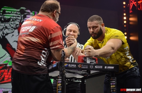 Dmitry Trubin is back from a long way! # Armwrestling # Armpower.net