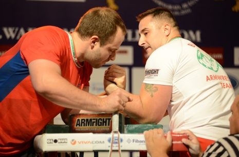 "Krasimir Kostadinov: ""I am expecting my fight with Vitaly Laletin!"" # Armwrestling # Armpower.net"