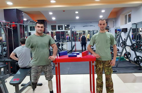 """Legends Gym Armenia"" sports club opens doors! # Armwrestling # Armpower.net"