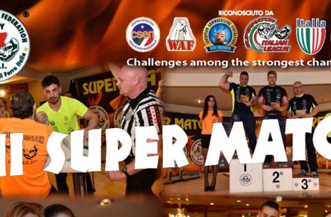XII Super Match – invitation! # Armwrestling # Armpower.net