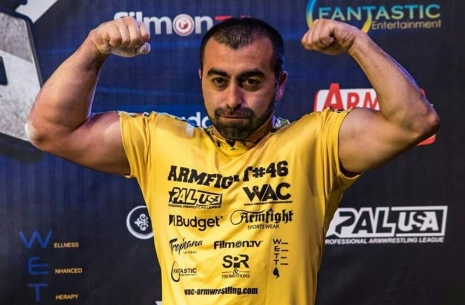 Vazgen Soghoyan: results of the year # Armwrestling # Armpower.net
