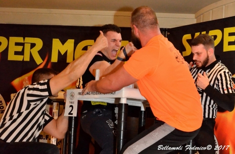 "Ermes Gasparini: ""I quickly understood how to pull with Todd"" # Armwrestling # Armpower.net"
