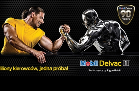 Mobil Delvac Strong Traker - Poznań Motor Show Truck # Armwrestling # Armpower.net