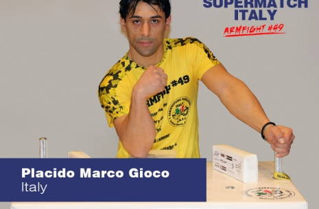 "Placido Marco Gioco: ""I am satisfied with Vendetta"" # Armwrestling # Armpower.net"