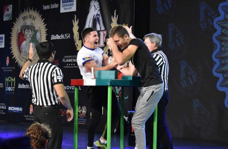 "Oleg Tudorean: ""I gave all my strength for this gold"" # Armwrestling # Armpower.net"