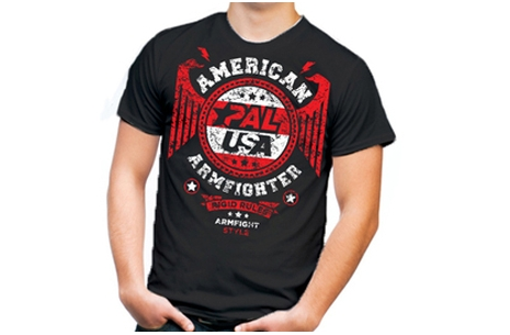 American Armfighter T-Shirt # Armwrestling # Armpower.net