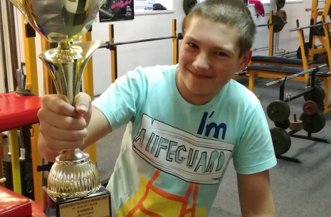 Dominik Zaorski – a young champion! # Armwrestling # Armpower.net