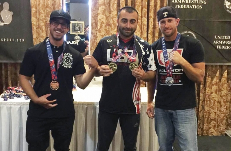 Vazgen Soghoyan: «There were many breathtaking fights an American Nationals» # Armwrestling # Armpower.net