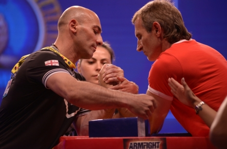 "Jambul Vibliani: ""It's impossible to forbid giving up"" # Armwrestling # Armpower.net"
