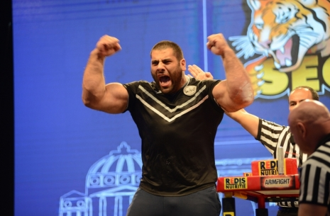 Levan Saginashvili: Results of the year # Armwrestling # Armpower.net